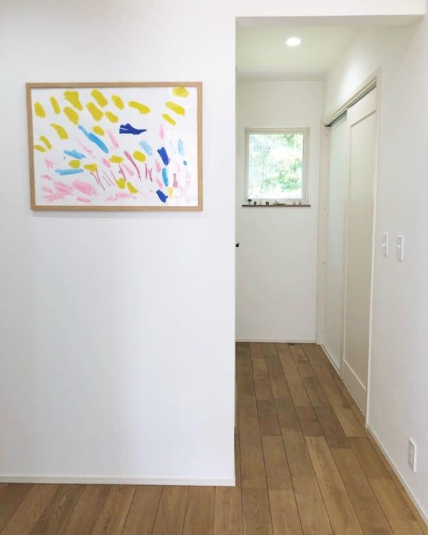アート おしゃれ 階段・廊下インテリア4