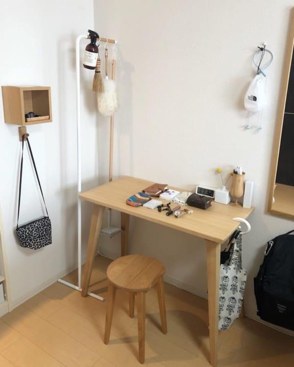 壁に付けられる家具