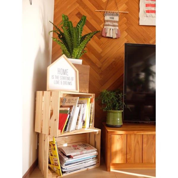 おしゃれな本棚アイディア《リビングルーム》8