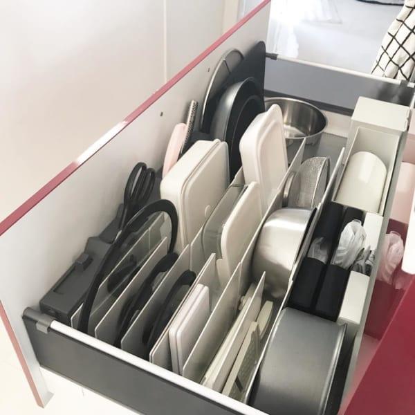 収納実例④キッチン用品の収納