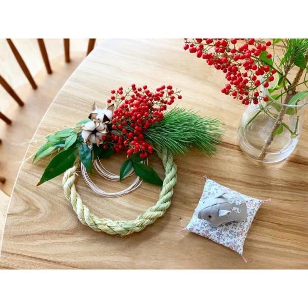 お正月飾り&テーブルコーデのアイディア2