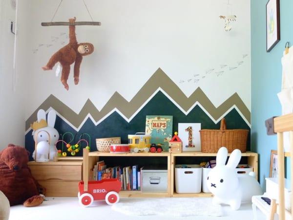 冒険心をくすぐるワクワクな子供部屋