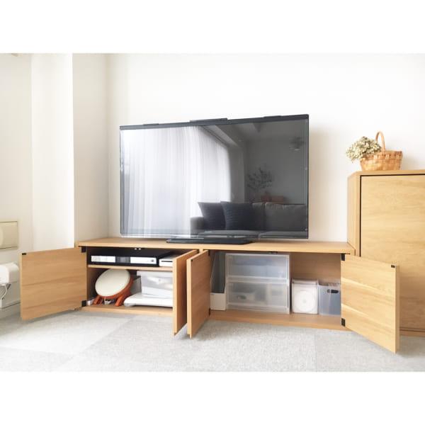 テレビ周り 収納12