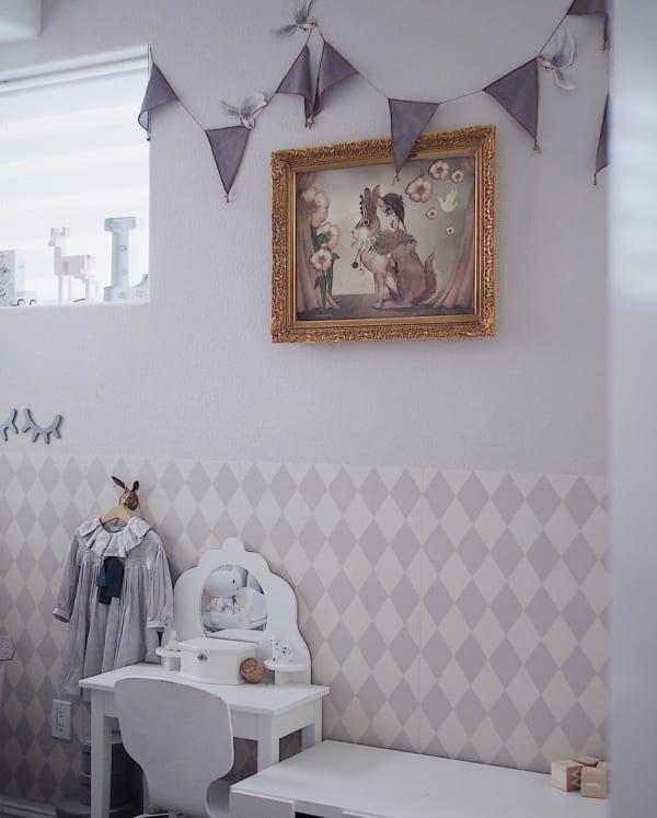 アート おしゃれ 子供部屋インテリア3