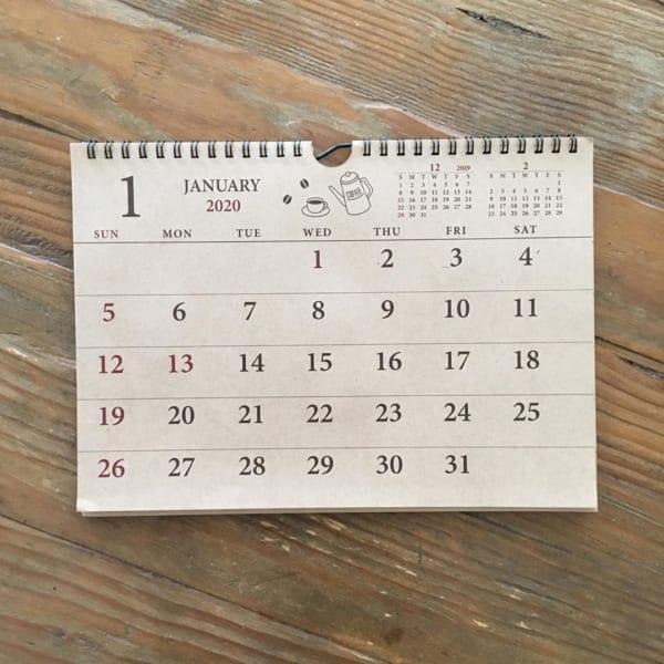 2020年の手帳&カレンダー5