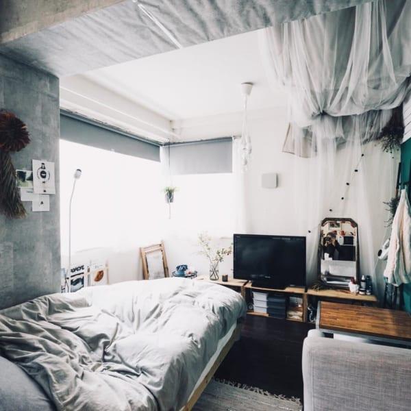 狭い部屋に家具を効率的にレイアウト