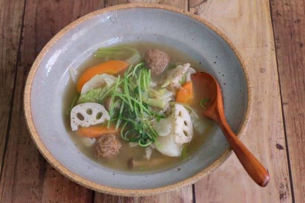パスタの付け合わせレシピ《スープ》15