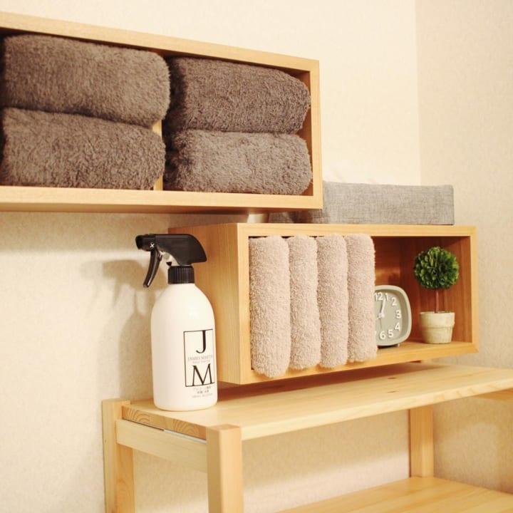 壁面活用①5畳レイアウトにおすすめな収納