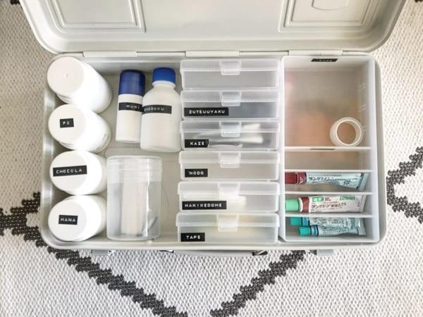 工具箱3:災害時にも持ち出しやすい薬箱