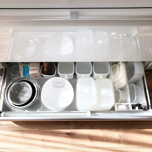 アイデア⑤保存容器の収納