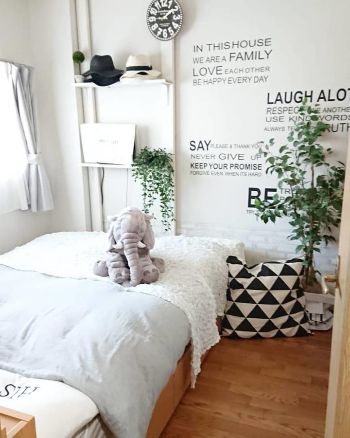 壁面活用②5畳レイアウトにおすすめな収納