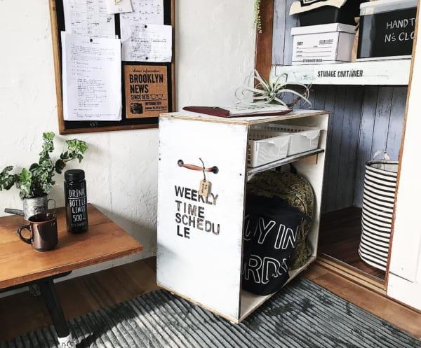 DIYで楽しむカフェ風インテリア6