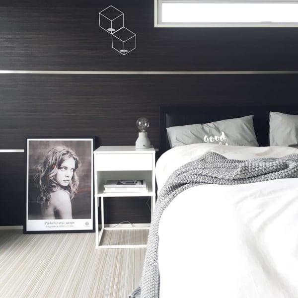 モダンスタイルのベッドルーム