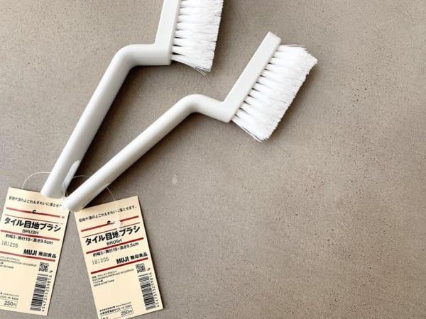 掃除グッズ⑦タイル目地ブラシ