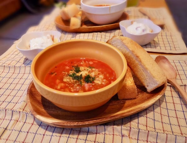 グラタンの付け合わせレシピ《スープ》3