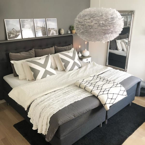 モダンスタイルのベッドルーム2