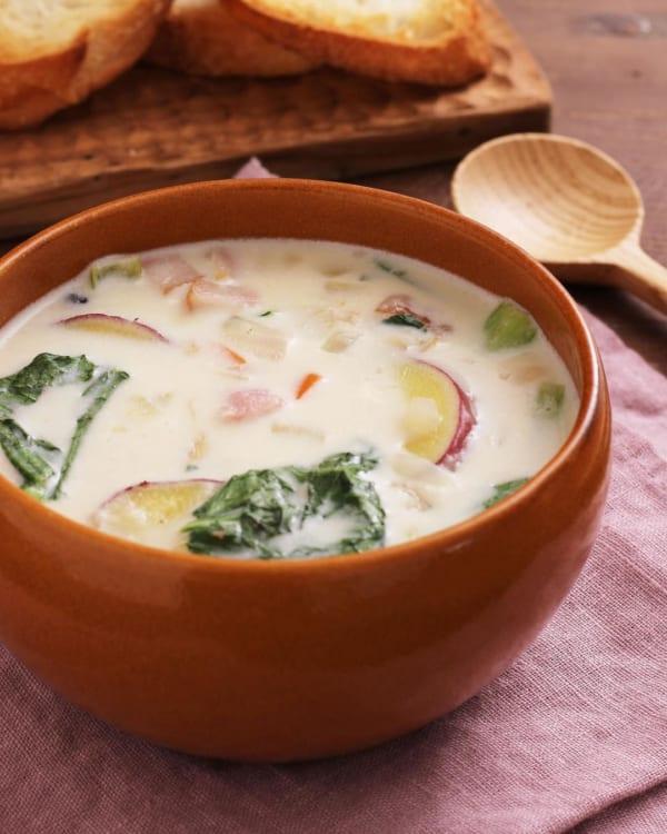 グラタンの付け合わせレシピ《スープ》7