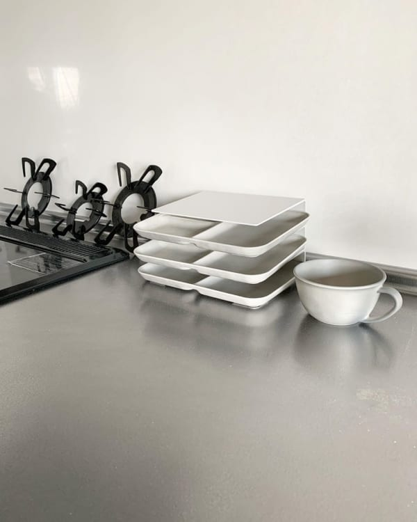 収納実例⑨お皿の一時収納