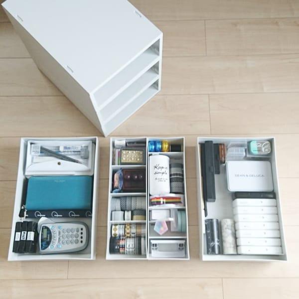 リビング収納に役立つ小物収納方法