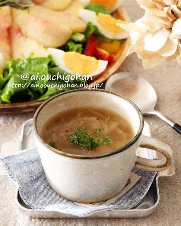 グラタンの付け合わせレシピ《スープ》8