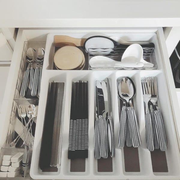 便利で使いやすいキッチン小物収納方法