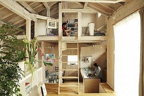 大勢の人が自由に楽しめる空間。家をシェアしてオープンな場所に。3