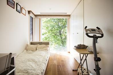 個室の使い方やアレンジは自由自在。広さがあるから暮らし方のアイデアが広がる。4