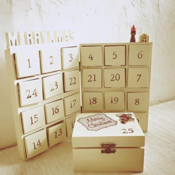 クリスマスが待ちきれない♡アドベントカレンダー