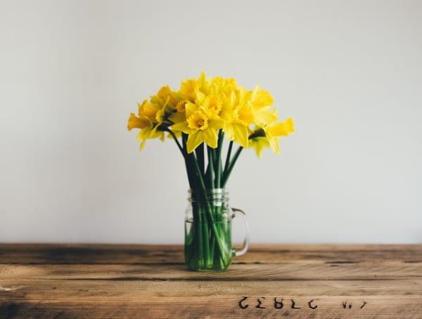 黄色いお花 インテリア風水5