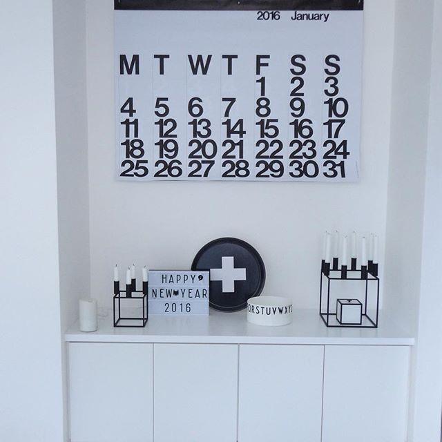 北欧インテリアにもマッチするステンディグカレンダー