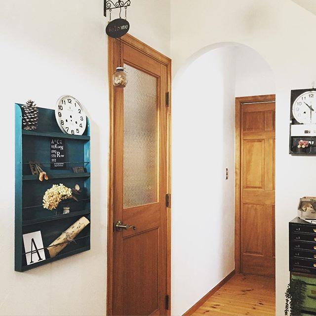 壁面収納 玄関