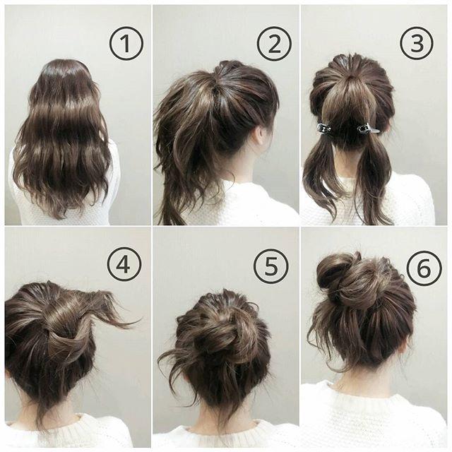 お花見におすすめの髪型《ロングヘアアレンジ》8