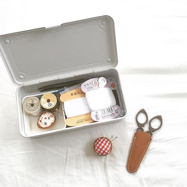 小物収納に大活躍の「道具箱」