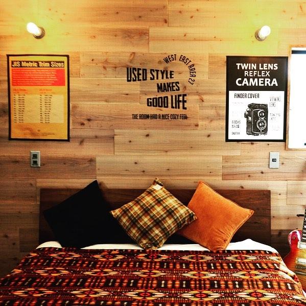 温かみのあるインダストリアルな部屋作り