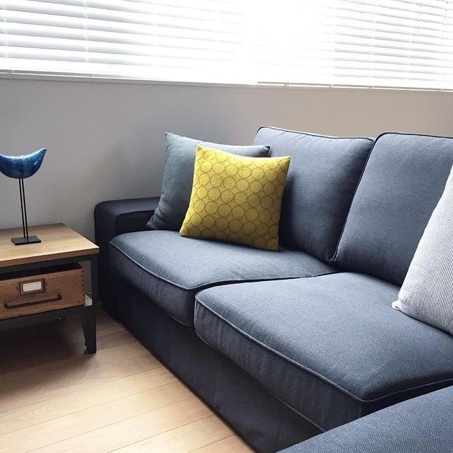 ②ファブリックや木製の家具を取り入れる5