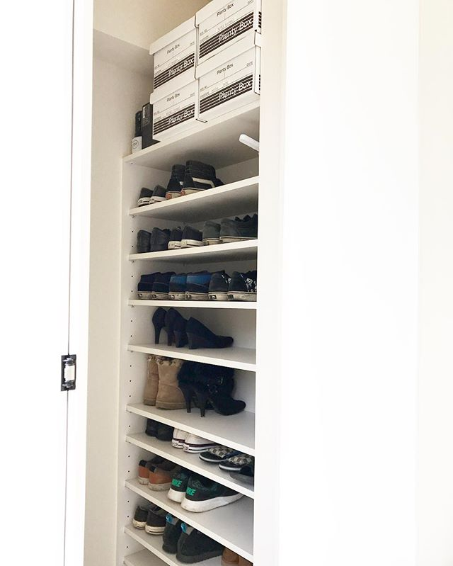 プレンティボックスの活用術《靴収納》