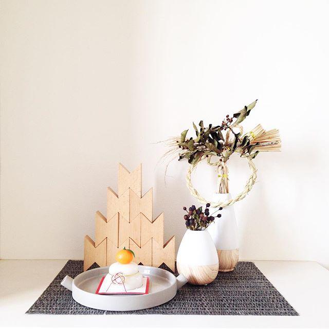 季節や行事合わせて小物を飾る
