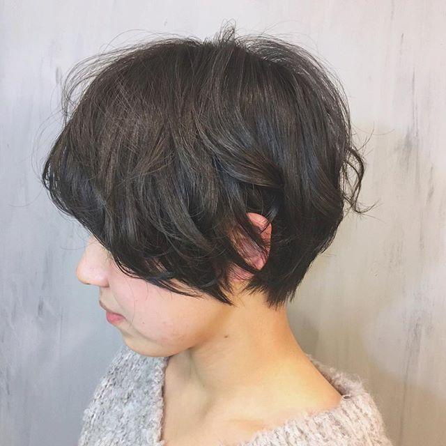入園式の髪型《ショート×黒髪・暗髪》2