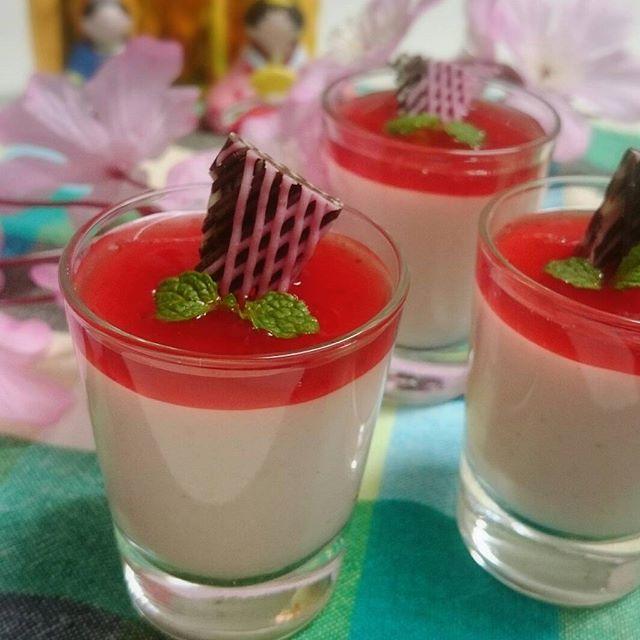 ひな祭りに人気のデザートレシピ《その他グラススイーツ》5