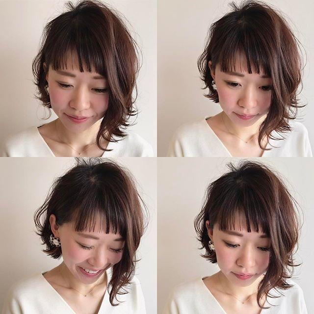 卒園式 髪型 ボブ13