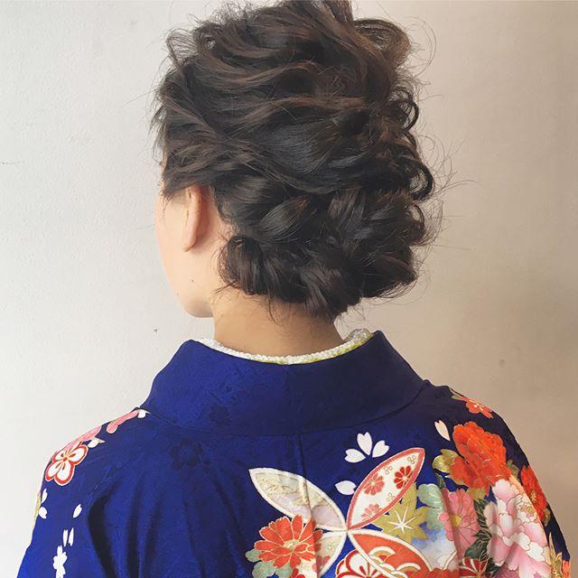 卒業式におすすめのママの髪型《ロング》2