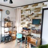 壁面だけで部屋を一新するアイデア♪パネル&シールの活用法を見習おう!
