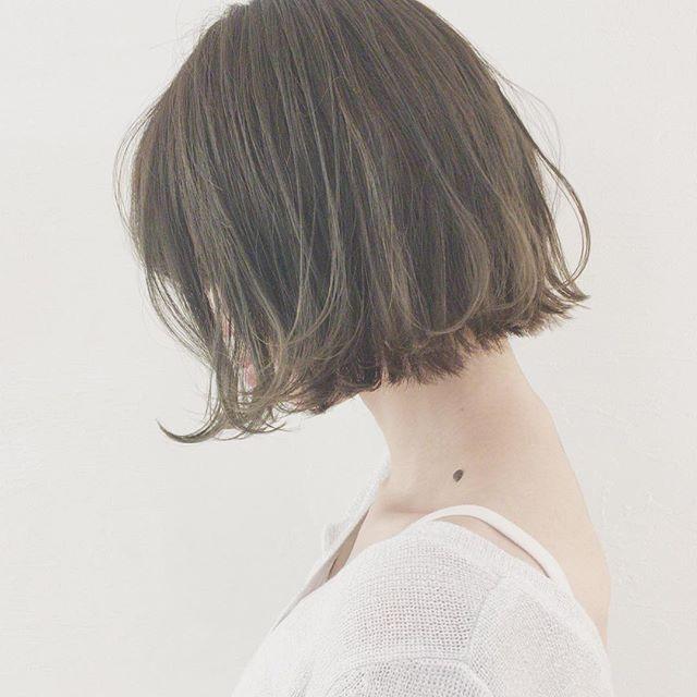 春トレンドのヘアカラー14