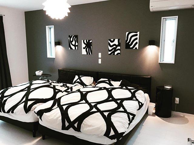 ホテルライクな寝室を目指す統一性