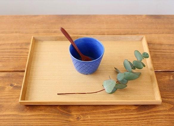 武曽健一さんの青い器
