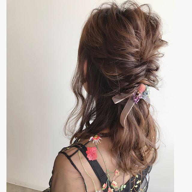 卒業式におすすめのママの髪型《ロング》4