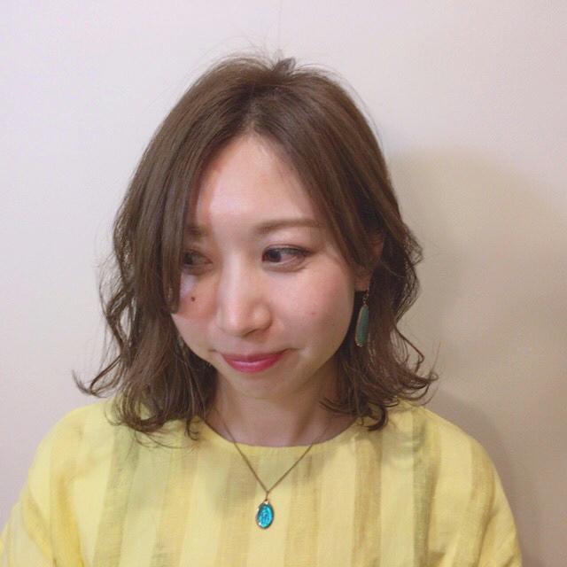お花見におすすめの髪型《ミディアムヘアアレンジ》
