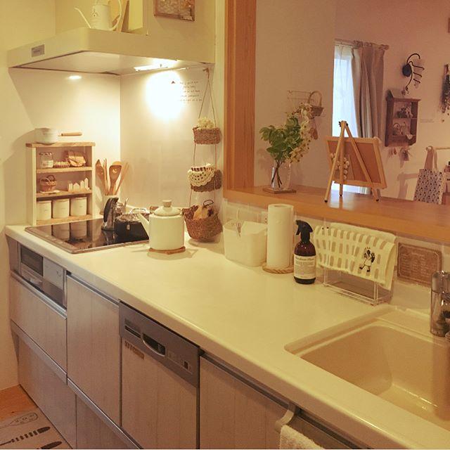 キッチンペーパーの収納アイデア12