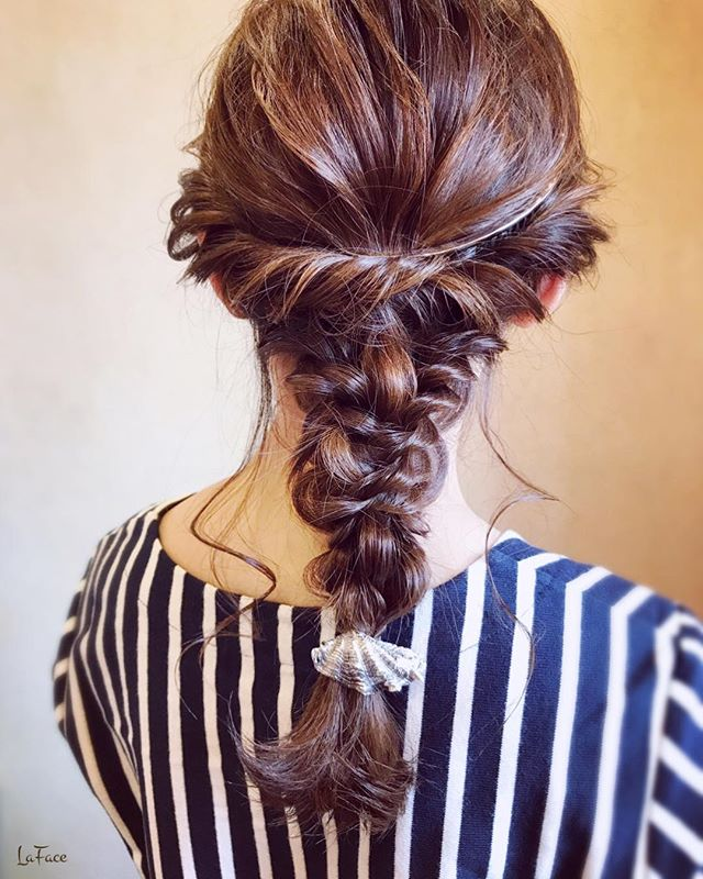卒業式におすすめのママの髪型《ロング》6