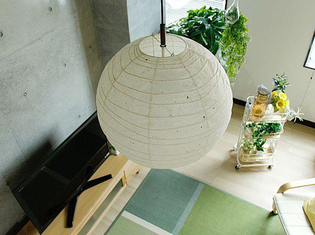 和紙のライトで和の雰囲気を取り入れる